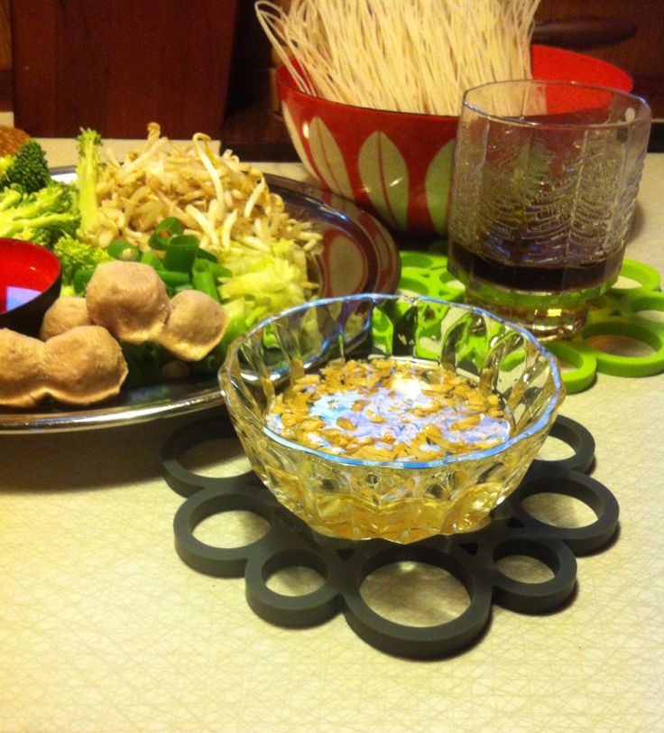 Noodles soup in Thai style