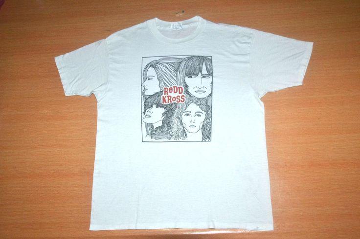 Vintage 80s REDD KROSS The Beatles Parody Revolver Tour Concert promo mega rare 90s T-shirt by OldSchoolZone on Etsy