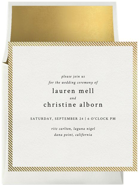 15 best ideas images on Pinterest Design, Brass and Bridal invitations - best of wedding invitation maker laguna