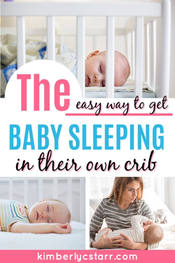 How To Get A Newborn Baby To Sleep In Crib