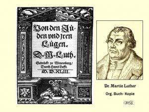 Maarten Luther, een bevlogen kerkhervormer met anti-Joodse uitspraken