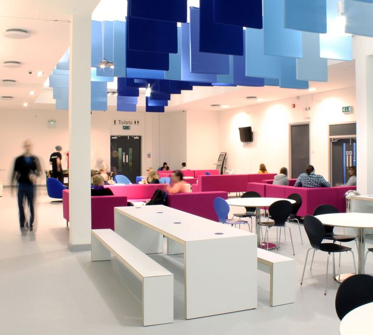 University of Portsmouth Interiors for The Third Space (completed March 2010)