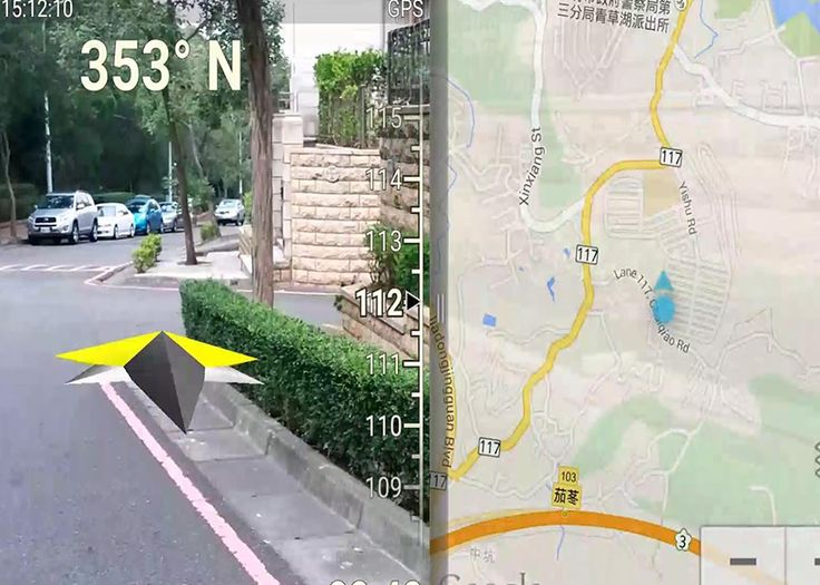 GPS Route Finder And Navigator- screenshot
