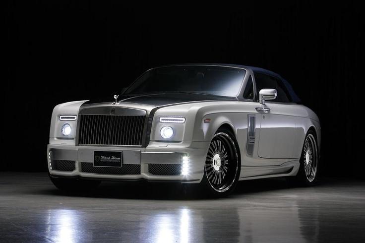 Rolls-Royce Phantom Drophead Coupe от Wald с пакетом Black Bison