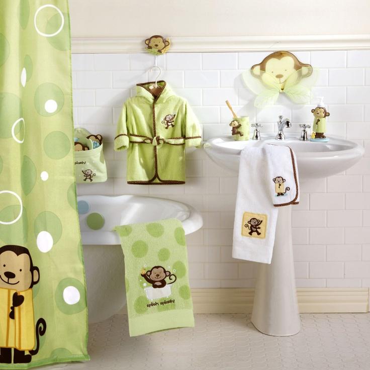 Best Kids Bathrooms: 70 Best Images About Monkey Bathroom On Pinterest