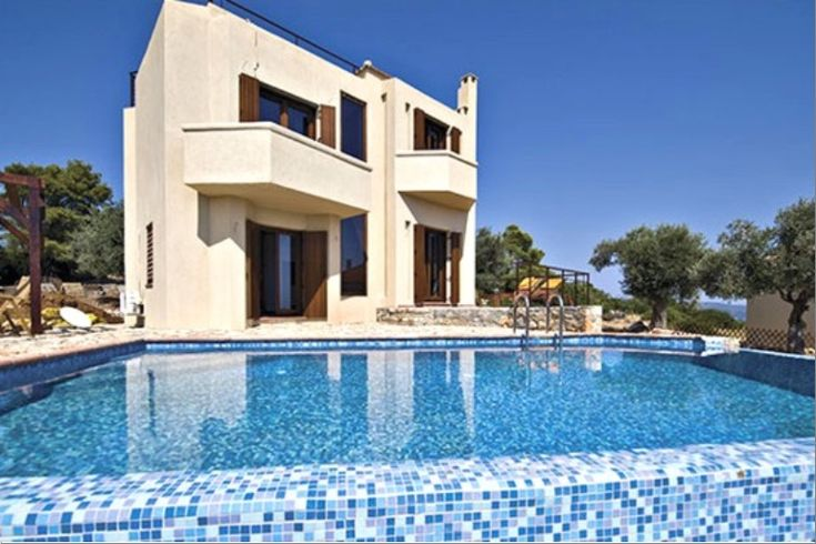 #realestate Complex #villas #Alonnisos two-level homes are #furnished & modern