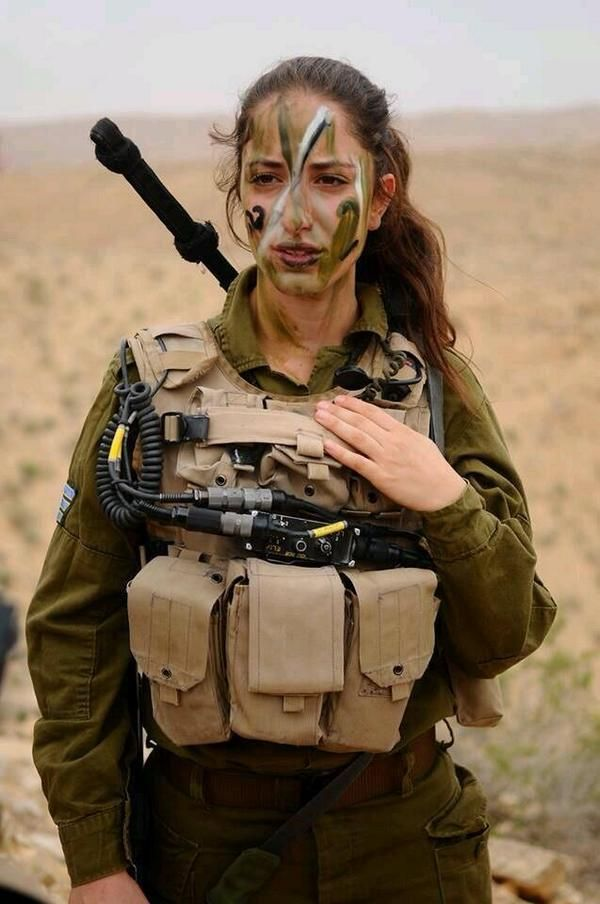 War On Women? In Israel, Women Defend Their Country.