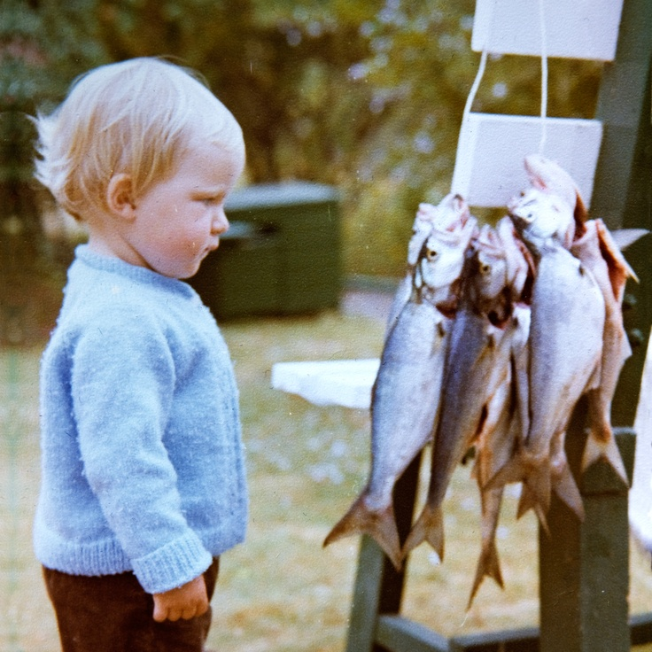 Little one in 1979, Plettenberg Bay, South Africa