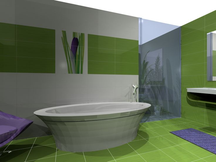 17 best images about salle de bain on pinterest ocean for Salle de bain 3d