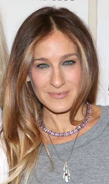 """Sarah Jessica Parker at the """"The Commons Of Pensacola"""" Off Broadway Cast Photo Call. Makeup by Jake Bailey. Hair by Andy Lecompte."""