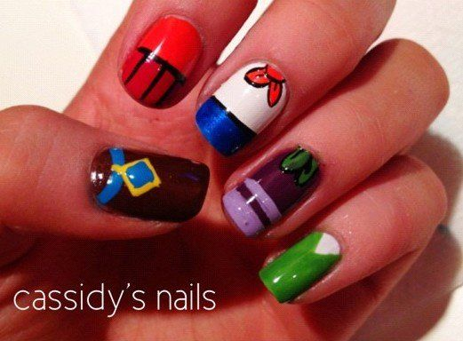 Scooby Doo Nails Only4rlyrlz3 Pinterest Scooby Doo