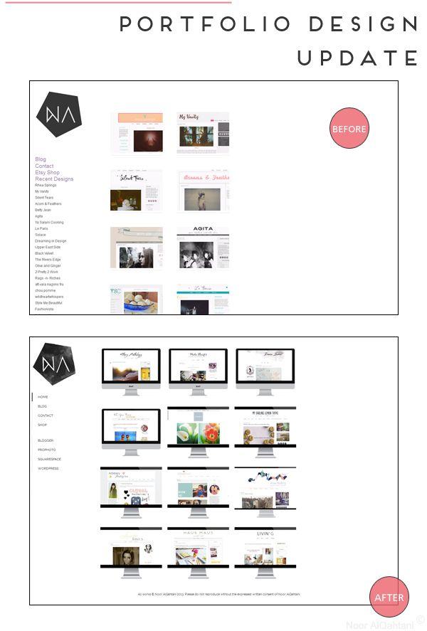 Portfolio Design updates