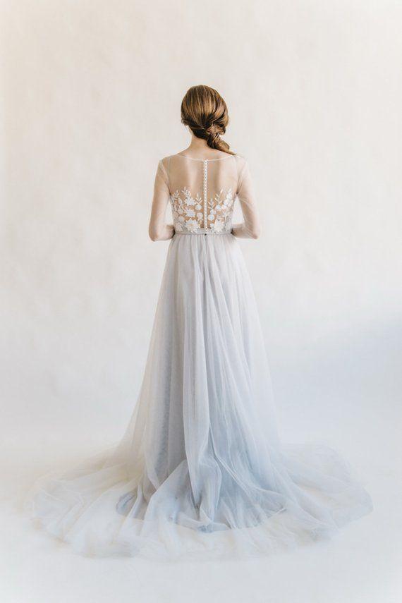 Wedding Dress Long Sleeve Wedding Dress Made To Measure Wedding