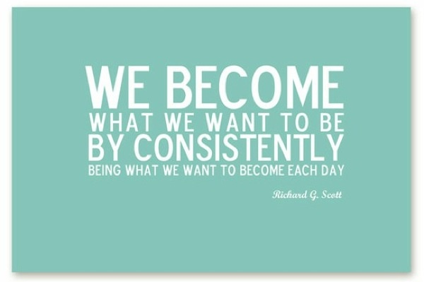 Are you becoming the person you want to become?
