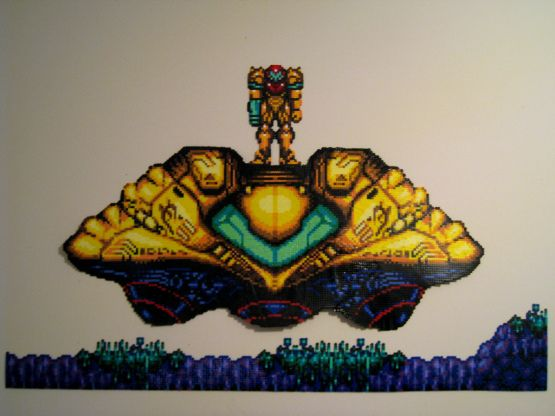 Kefka's Tower… there is no point even continuing. But, just for the hell of it, here are some more dumbly intricate perler bead creations.