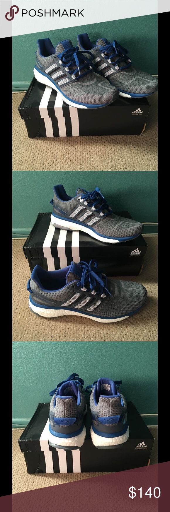 Adidas energy boost blue/gray ✅Brand New!!! 💥Adidas Energy Boost 💥Size: 11 💥Original Box 📦 Adidas Shoes Athletic Shoes