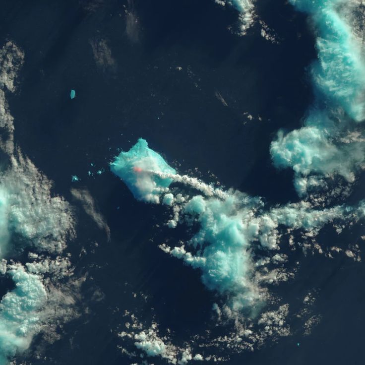 Nobody Saw This Volcano Erupt … Except NASA's Satellites
