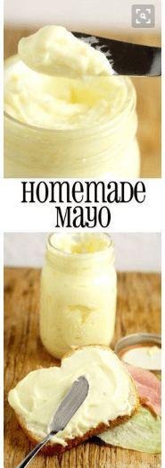 nice Homemade Mayonnaise
