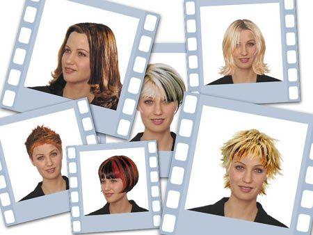 Frisurenberatung per foto