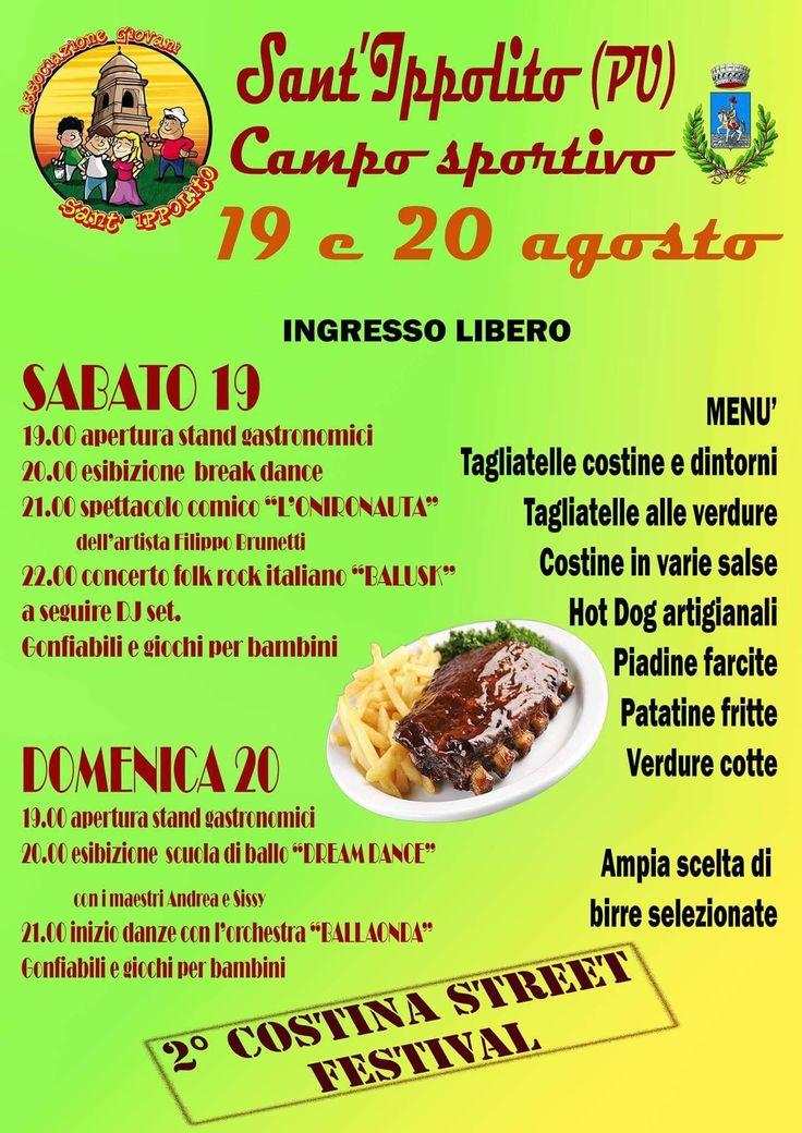 #costina_street_festival #agsantippolito #santippolito #eventimarche #eventipesarourbino #summer2107