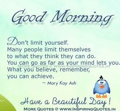Image result for good morning quotes positive attitude