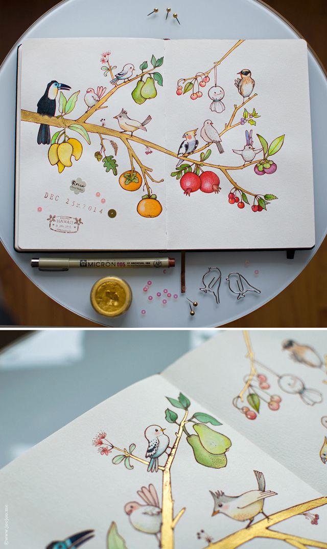 Sketchbook by Afsaneh Tajvidi