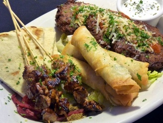 Turkish Meze Platter by The Olive and Grape in Seattle, WA