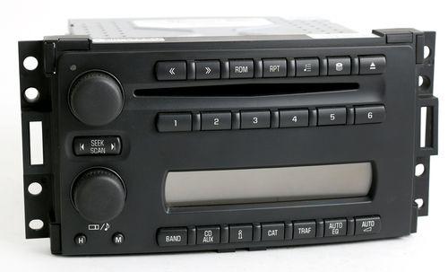 Chevy Uplander & Saturn Relay 2005-07 Radio AM FM 6 Disc mp3 CD Player 15286297
