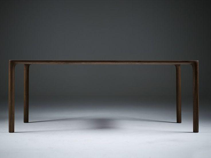 Rectangular Solid Wood Table JEAN By Artisan Design Rudjer Novak Mikulic,  Marija Ruzic