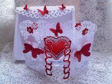Сердце двери Card Rose