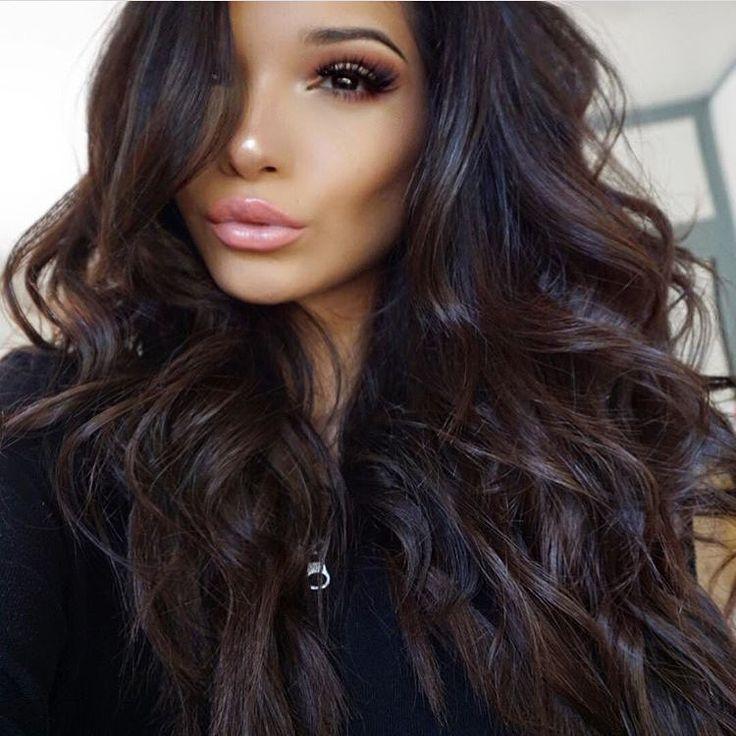 Stupendous 1000 Ideas About Dark Hair On Pinterest Hair Long Dark Hair Short Hairstyles Gunalazisus