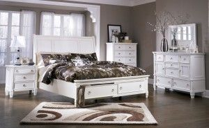 Vintage Queen Bed: White Queen Sleigh Bed With Storage ~ Bedroom Inspiration