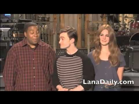 Lana Del Rey SNL Promo (With Daniel Radcliffe and Kenan Thompson)