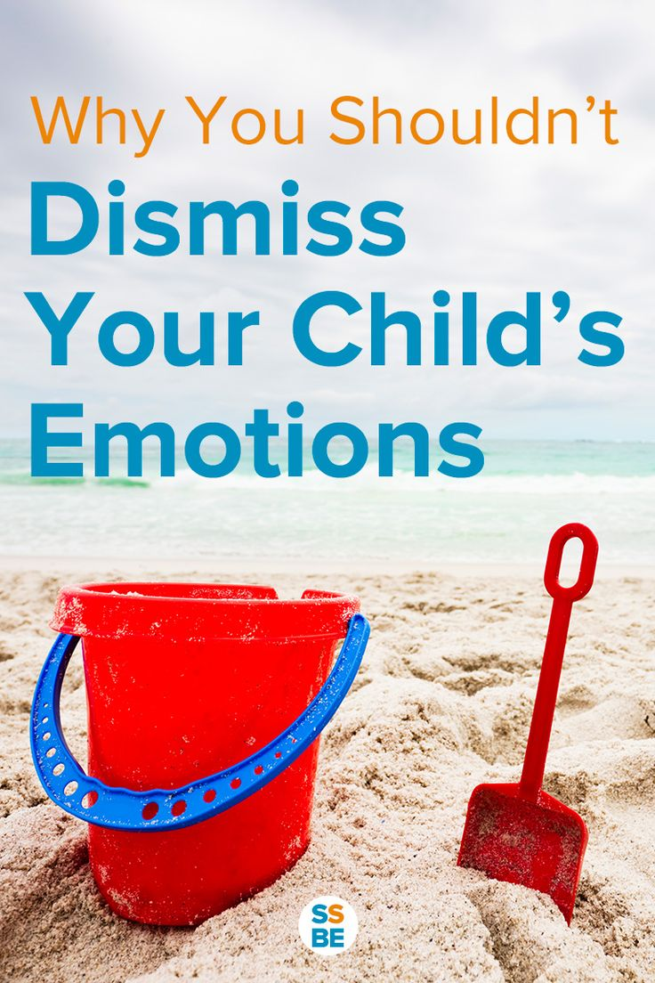 """How often do we reassure our kids by saying """"It's okay""""? We do so to make them feel better, but here's why you shouldn't dismiss the emotions of a child."""