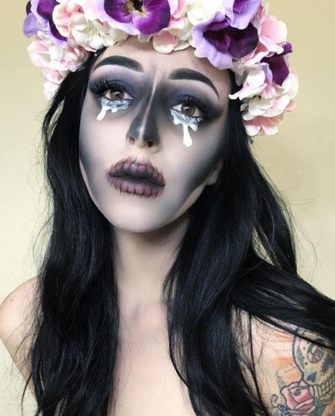Pintar Bruja Nia Affordable Anterior Maquillaje De Diablo Para Nia