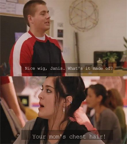 mean girls.  I just watched this again yesterday......that line STILL cracks me up!