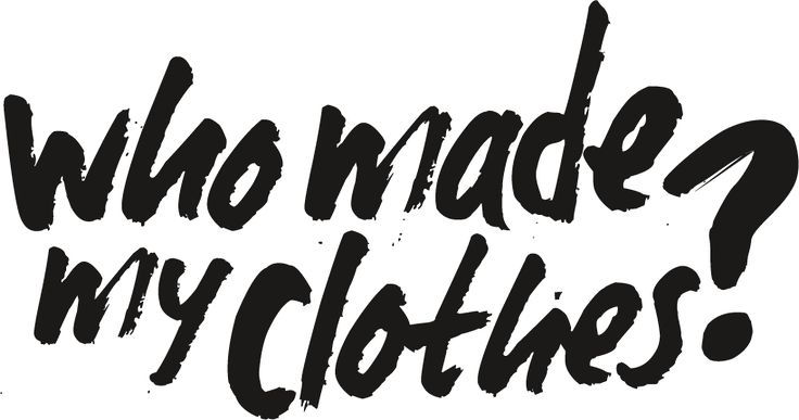 Fashion Revolution Day #FashRev et #whomademyclothes