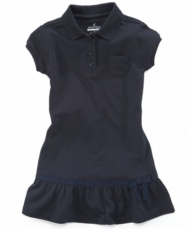 Nautica Kids Dress, Little Girls Uniform Polo Dress - Kids School Uniforms - Macy's