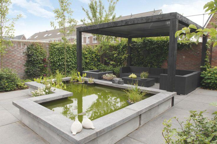 Marc de graaf tuinen is hovenier in de regio barneveld eigentijds en verrassend - Eigentijds pergola design ...