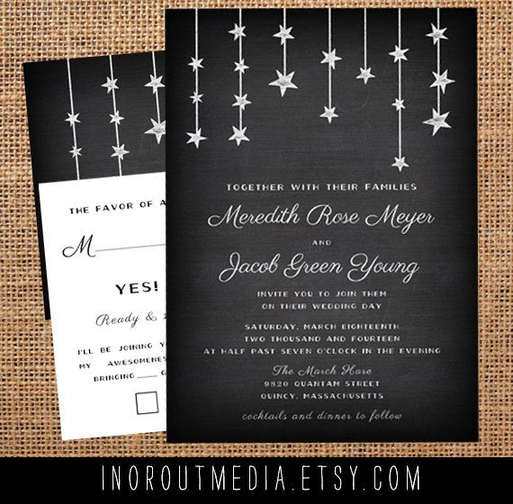 175 Best Sun Stars Moon Wedding Stationery Images On Pinterest