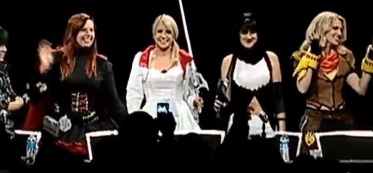RWBY voice actors came out wearing the outfits