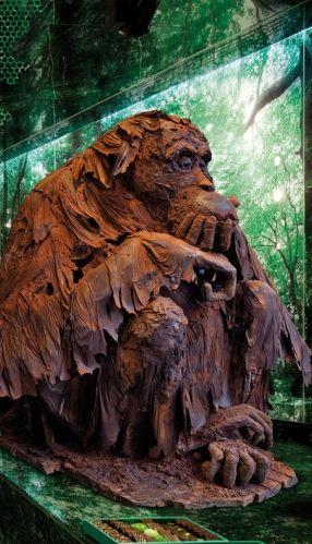 Patrick Roger -- chocolate sculpture