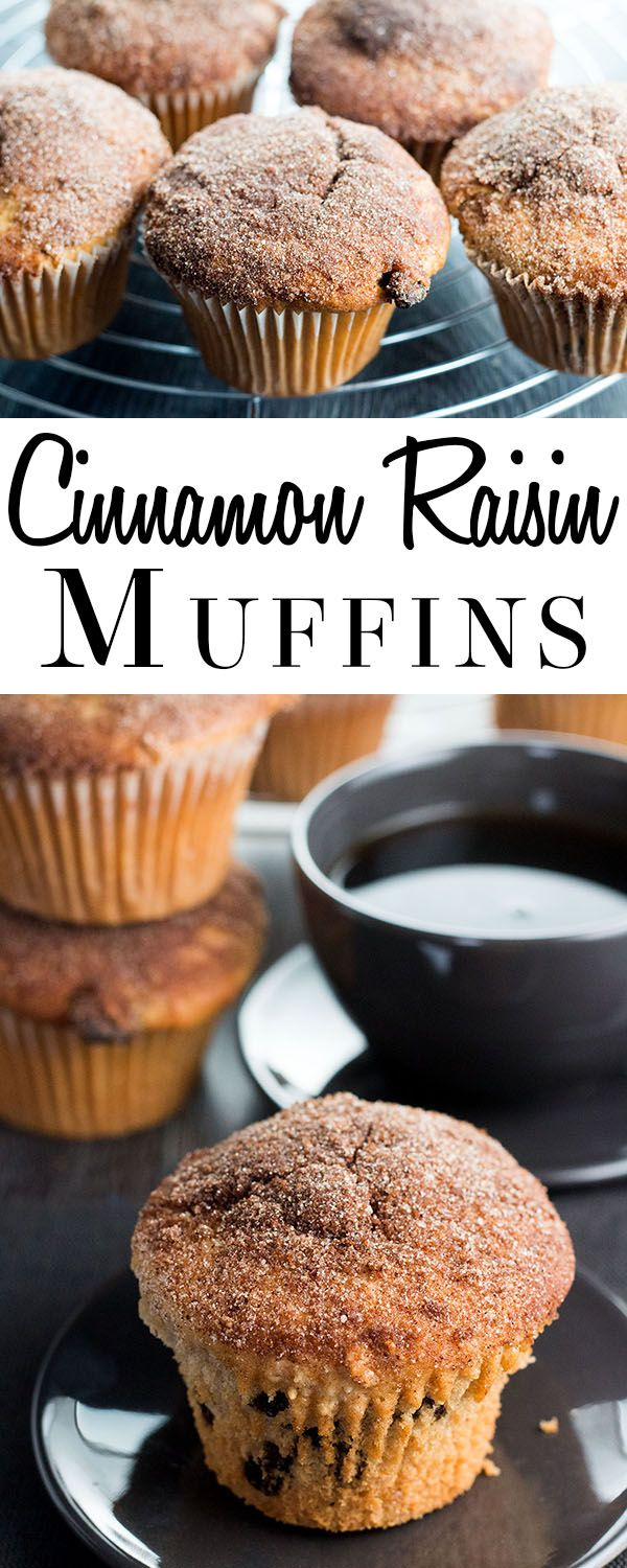 These outrageous recipe for Cinnamon Raisin Muffins features cinnamon & sugar dipped muffins that are fantastic straight from the oven. via @Erren's Kitchen