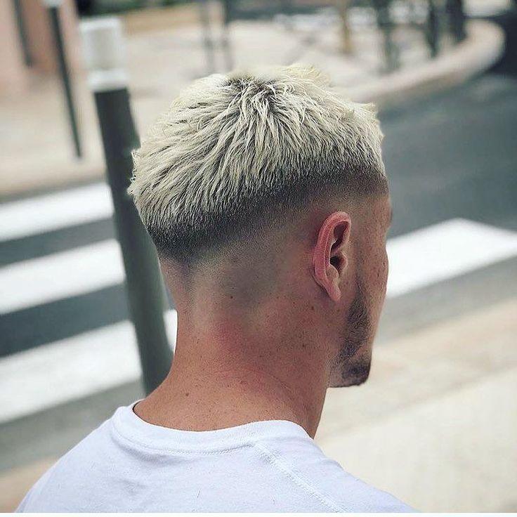 Gorgeous men's hair! #menshairstylesfade