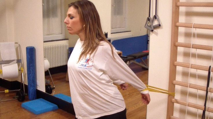 Postural gym - Ginnastica posturale con Loop Bands® - Scapole alate e cifosi