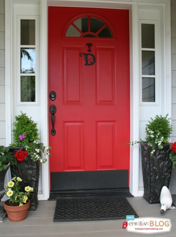100 best DOORS of Red... images on Pinterest | Red doors, Door entry ...