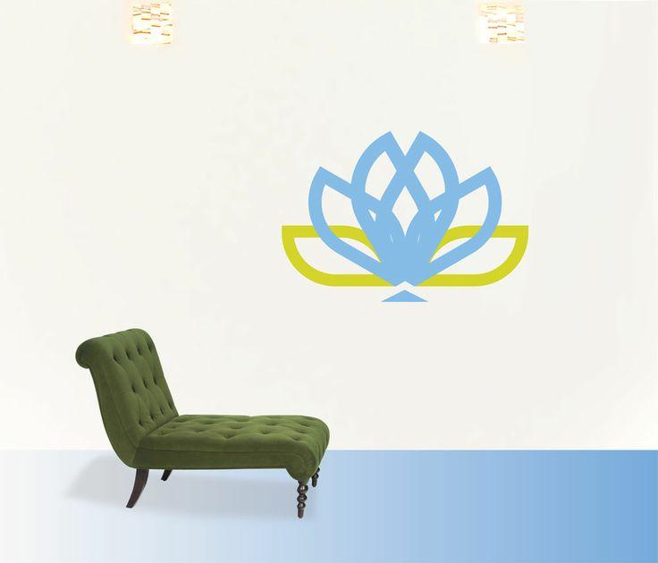 lotus  #decoraconvinil #vinilosdecorativos #decoracion #decoratupared #lotus #yoga #meditacion #flordeloto