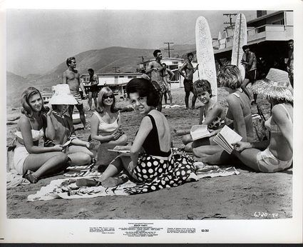 Frankie Avalon Beach Party 1963 8 X 10 Photo (38282)