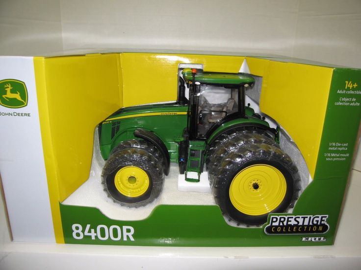 Vintage Manufacture 741: 1 16 John Deere 8400R Mfwd Duals And Triples Prestige Collection Nib -> BUY IT NOW ONLY: $145 on eBay!