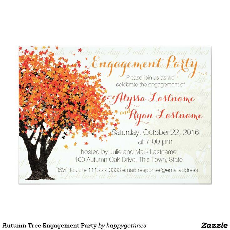 129 best TREE WEDDING Invitations images on Pinterest   Dress ...